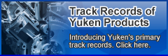 Track records of Yuken products